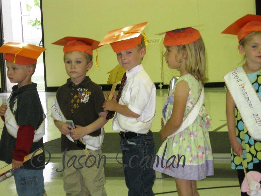 pre school graduation. Graduation started with the