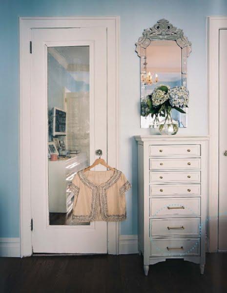 Woohooie Old Fashioned Mirrored Closet Doors
