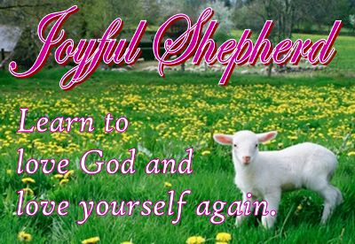 joyful shepherd badge
