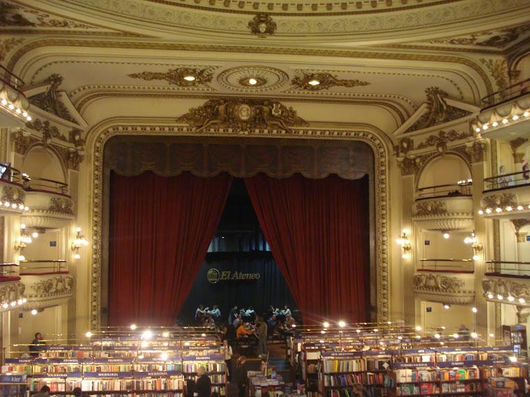 Libreria El Ateneo, Av. Corrientes, Buenos Aires, Argentina