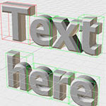 How to Make 3D Text-Invigorator
