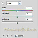 New Photoshop CS4 Feature in Hue/Saturation