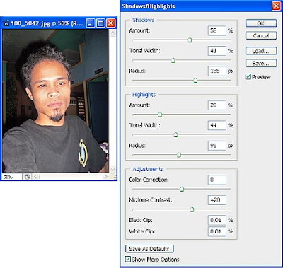 tutorial photoshop trace efek kartun 2