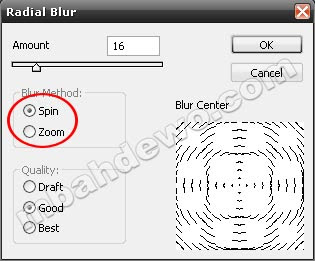 tutorial photoshop efek blur 8