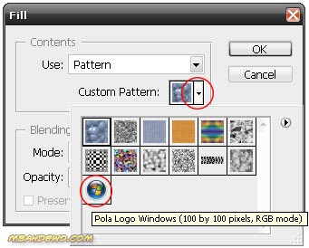 Tutorial Adobe Photoshop: Membuat pattern dengan Photoshop