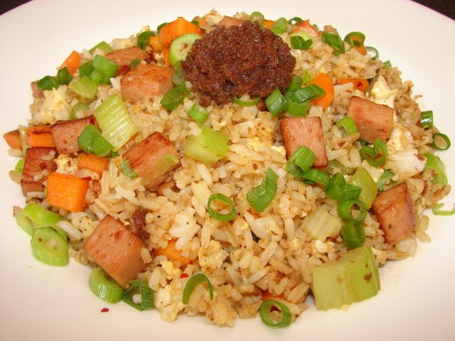 Sunflower Food Galore: Spam and XO sauce fried rice