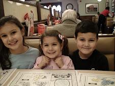 Rachel, Maya and Raymond