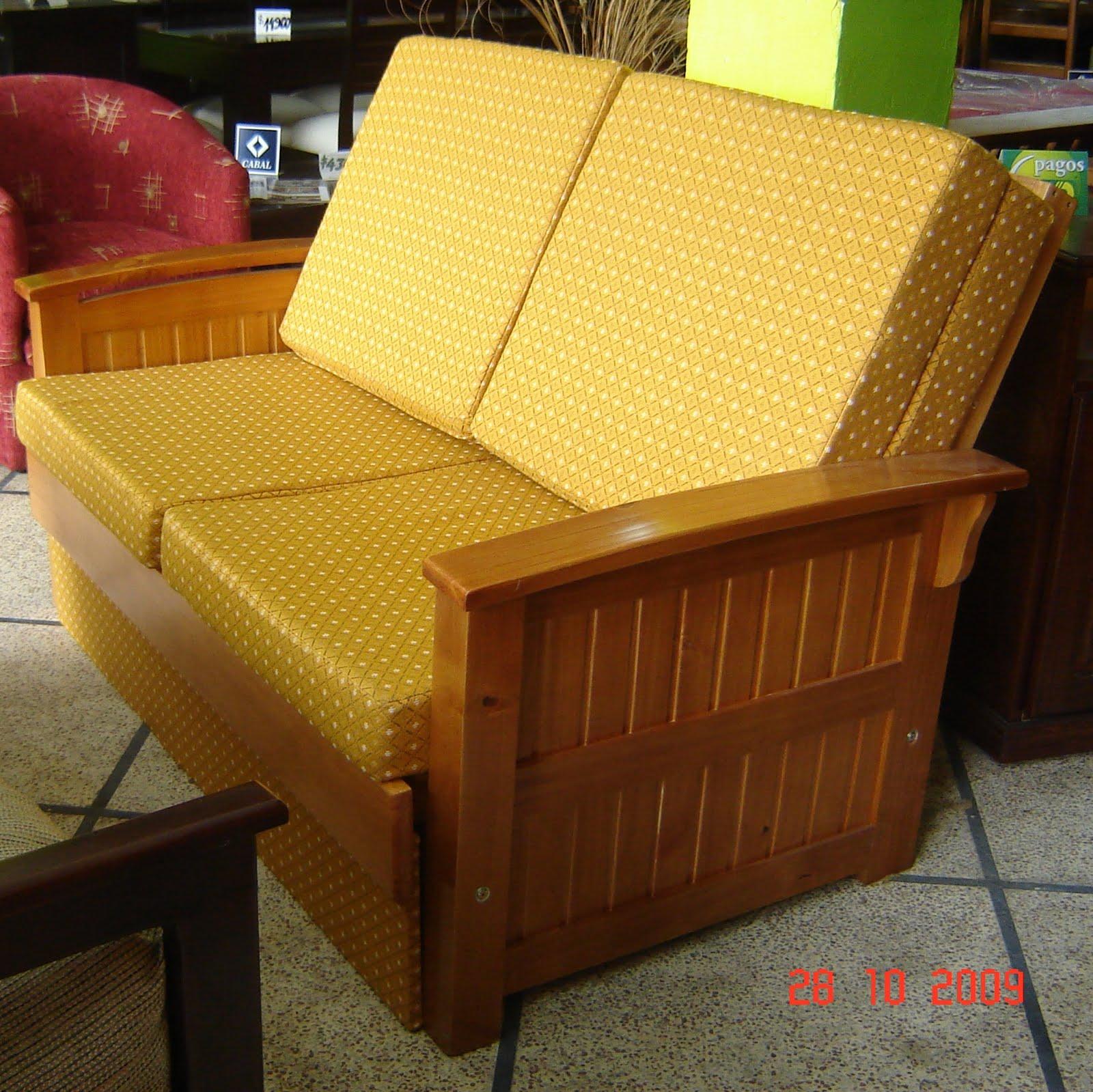 Muebles a tu medida sofa cama de 2 plazas for Sofa cama de 2plazas