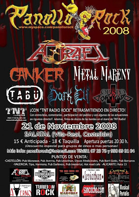 Cartel Definitivo del Panollo Rock