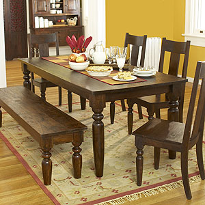 OK, So I Donu0027t Have A House But This Gorgeous WORLD MARKET Table Was On  Sale From $1294 Down To $700. I Had A 10% Off Coupon Also So I Ended Up ...