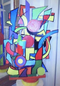 Escultura cromático-móvil
