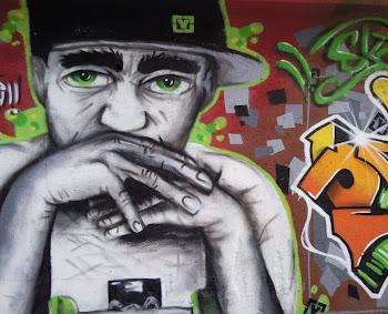 El Graffiti en Cádiz. Punta de San Felipe. Junto a los bloques