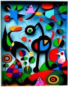 """"""" Trato de aplicar colores como palabras que forman poemas..."""" (Joan Miró)"""