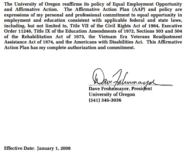 Aaeo Fails To Update Affirmative Action Plan In Time For Hiring