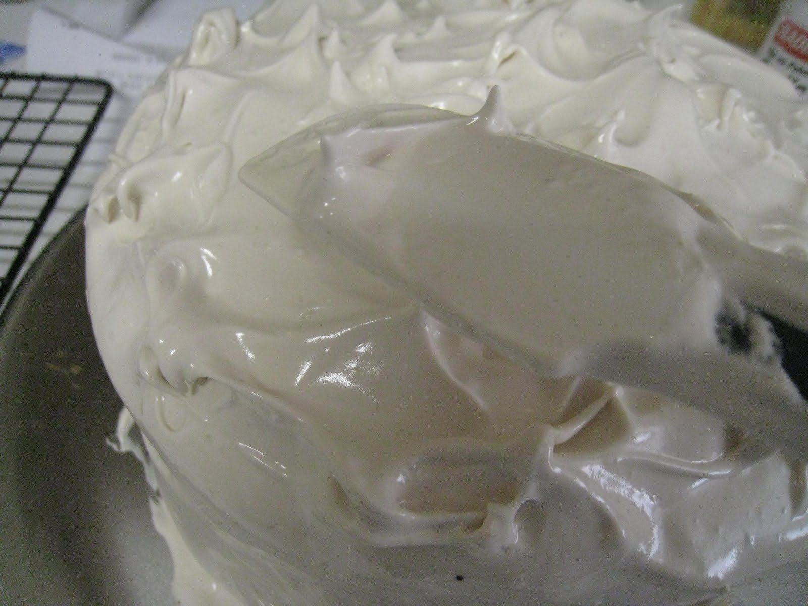 Frostings Without Powdered Sugar: Fluffy Coffee Frosting - Authentic ...