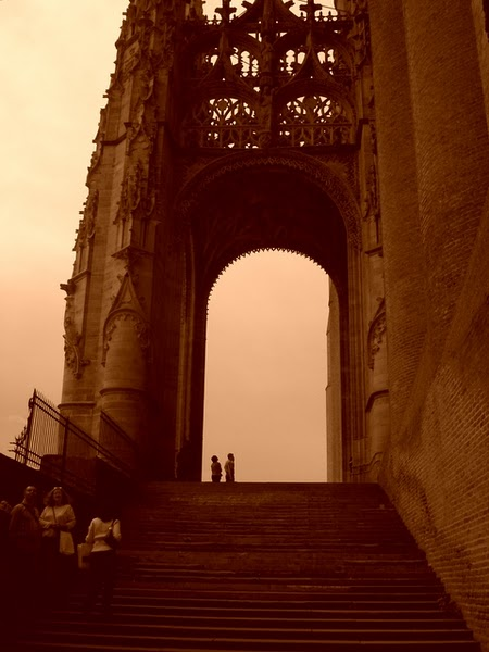 FRANCE:  ALBI - The famous Gothic Cathedral. / @JDumas