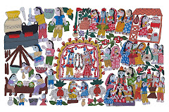 Mithila Art(Marriage Ceremony)