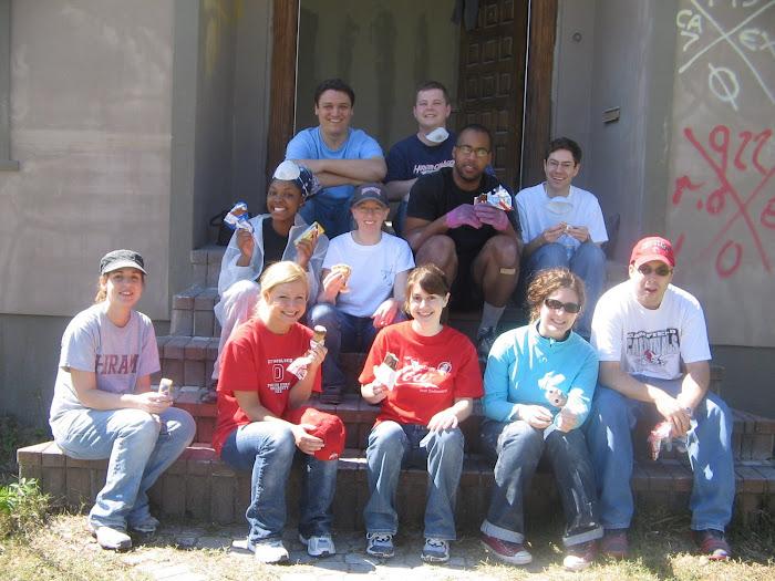 2008 Case New Orleans Volunteers