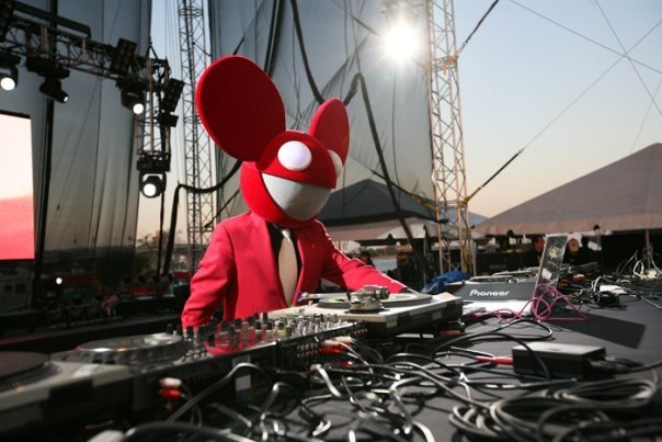 deadmau5 on stage