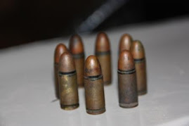 Sharp 9 millimeter bullets