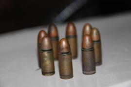 Sharp 9 millimeter bullets
