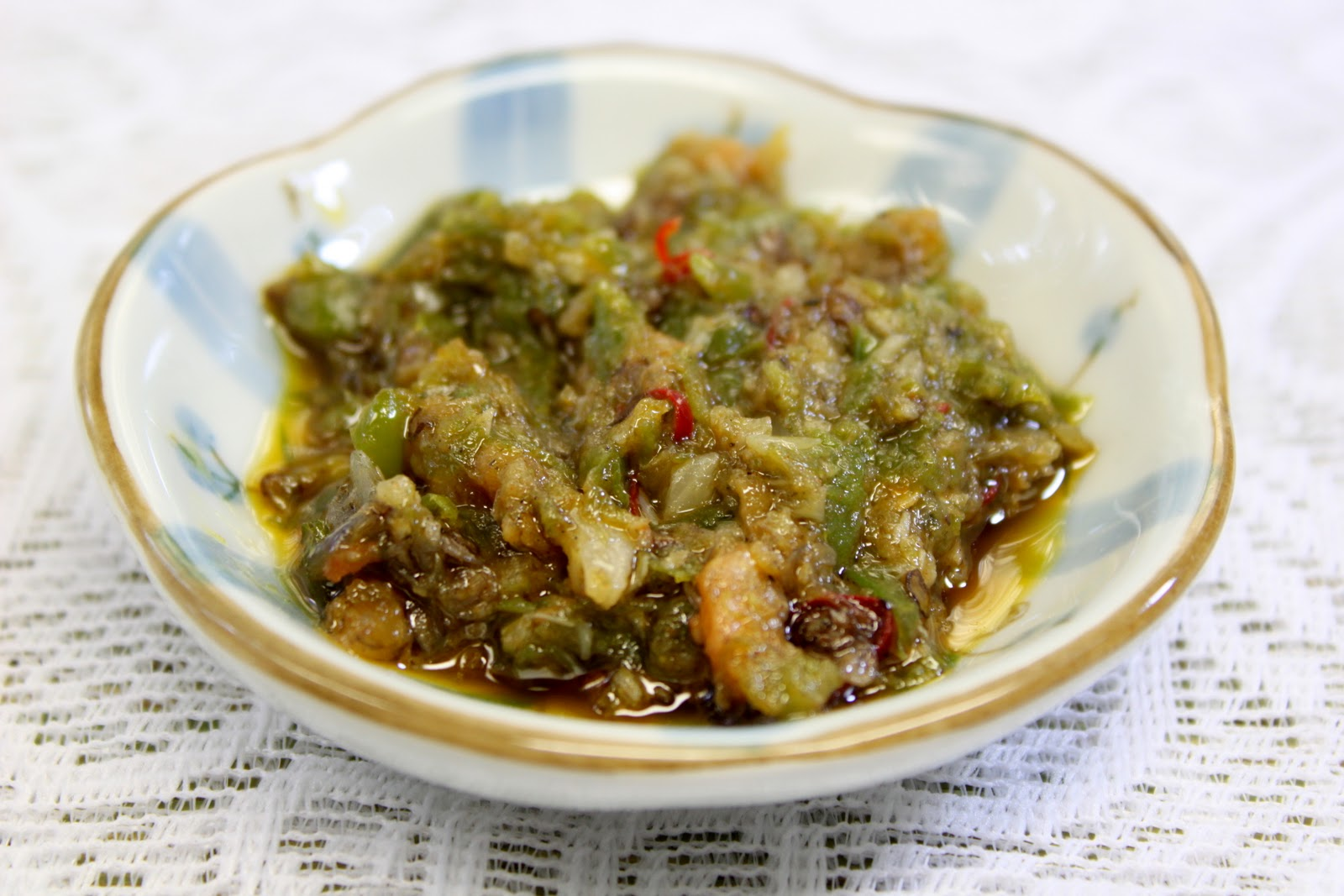 recipe: green chile sambal [2]