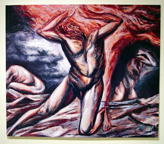 Jos clemente orozco prometeo for El hombre de fuego mural de jose clemente orozco