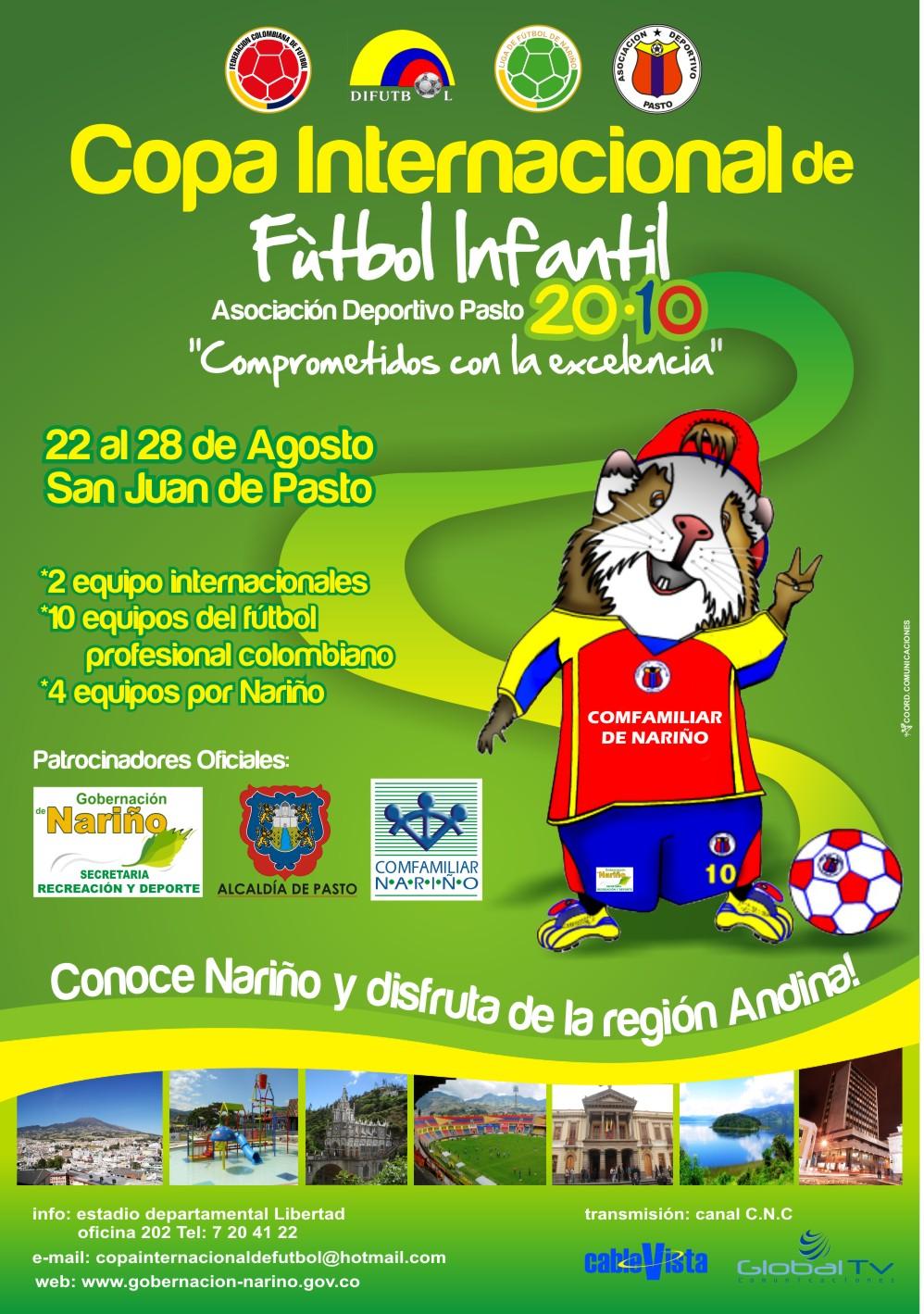 COPA INTERNACIONAL DE FUTBOL INFANTIL
