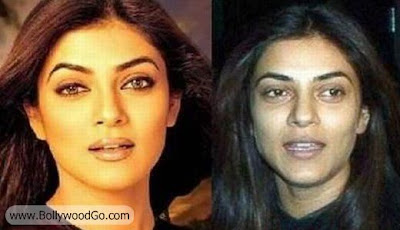 Sushmita+Sen++Without+Makeup+BollywoodGo bollywood actresses without makeup bollywood gallery