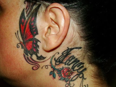 Tribal Tattoos For Ankles. tattoo Tribal Butterfly Ankle