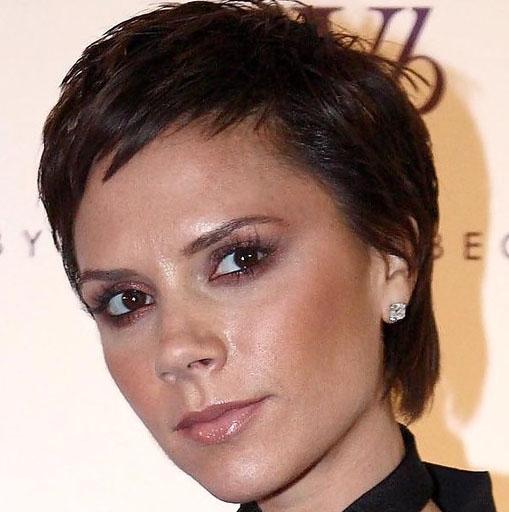 victoria beckham short hairstyle. Victoria Beckham Short Pixie