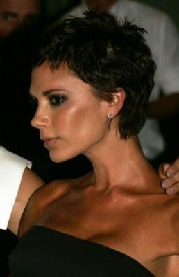 Victoria Beckham New Short hairstyle