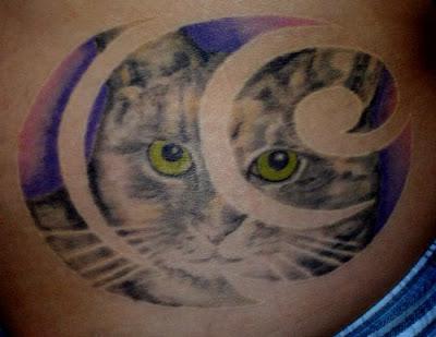 swirls tattoo. pictures Star and Swirl Tattoo