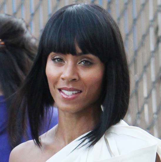 Jada Pinkett Smith Shoulder Length Hairstyles