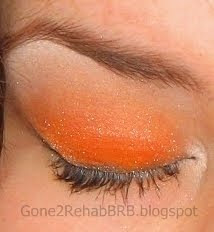barry m orange dazzle dust, number 77