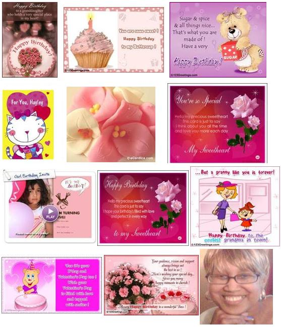 Granddaughter Free Ecard Birthday