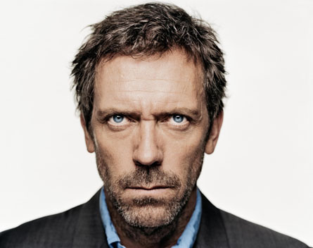 ... too pretty... Haymitch Hugh Laurie