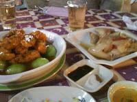 琵琶豆腐+很噁心的什麼冰皮乳鴿
