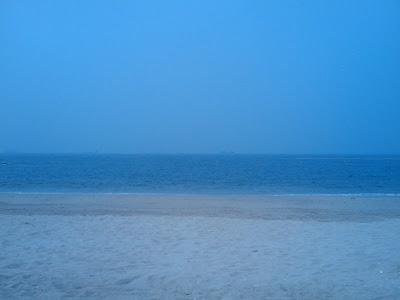懷著很不同的心情再次一起來這沙灘
