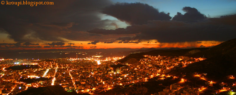 Kορυδαλλός, 16ΧΡΟΝΗ πόλη