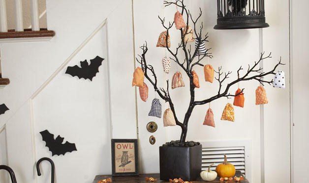 Halloween Craft Trees