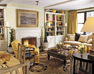 Site Blogspot  Upholstered Chairs  Living Room on Country Living
