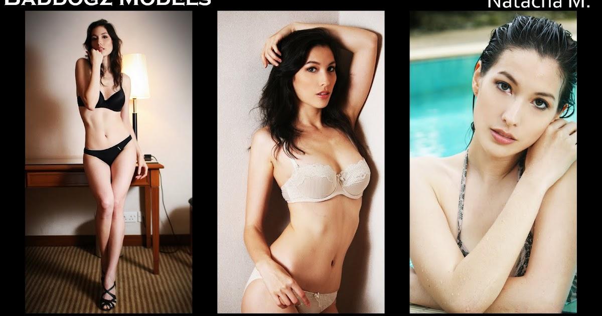 Natacha M Paris Mix Hong Kong Baddogz Models