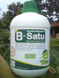 pupuk organik b-satu