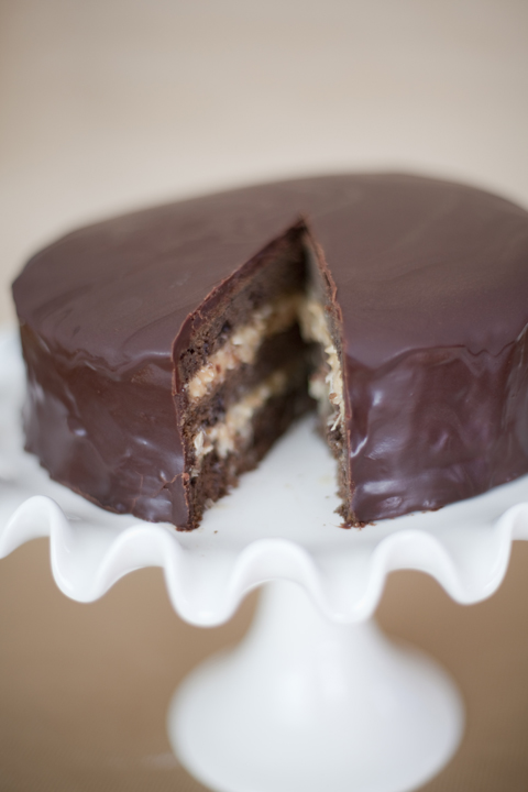 Picture Perfect Living: Inside Out German Chocolate cake