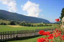 Panorama sur le Haut Jura depuis le jardin