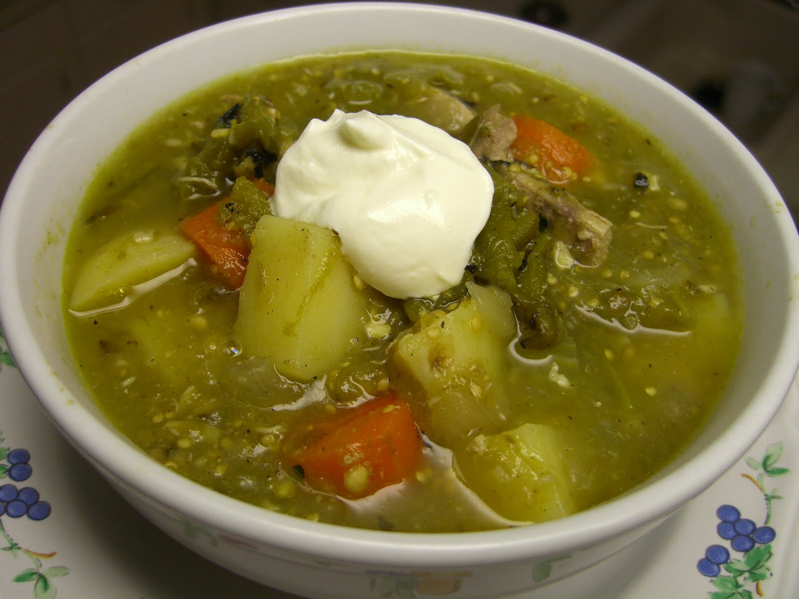 Green Chile And Chicken Stew Recipes — Dishmaps
