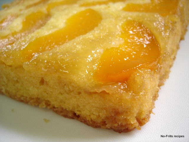 ... ... cooking, baking & excerpts on travel: Peach Upside Down Cake