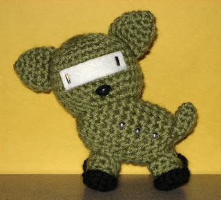 Cthulhu Crochet and Cousins: Crobot Roll Call...(and Review!)