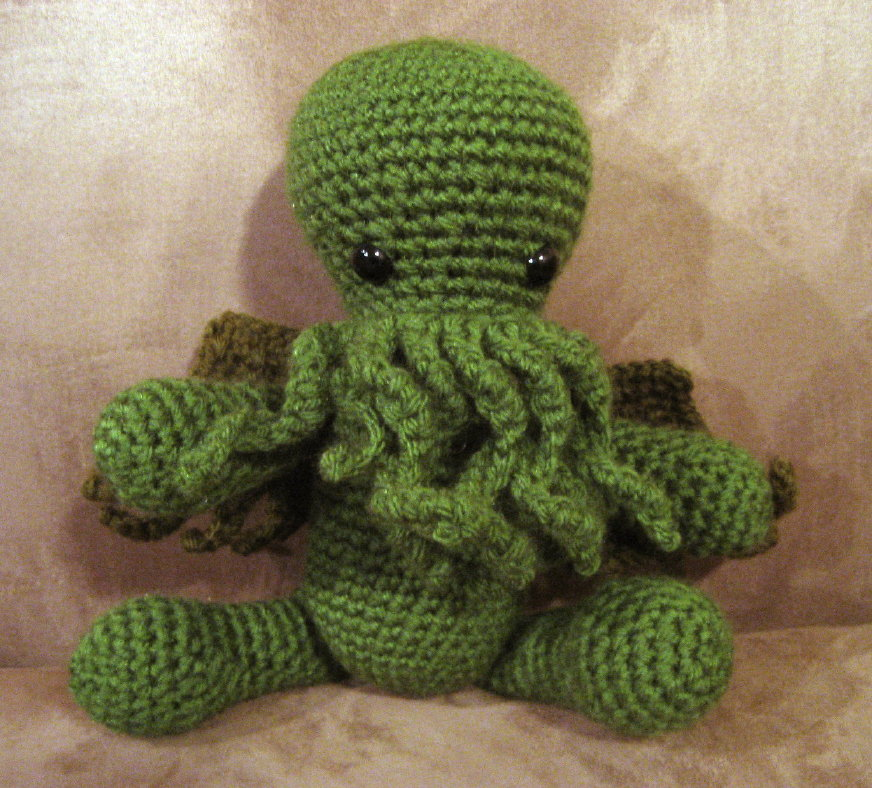 Cthulhu Crochet And Cousins Corrections To Cuddly Cthulhu Pattern